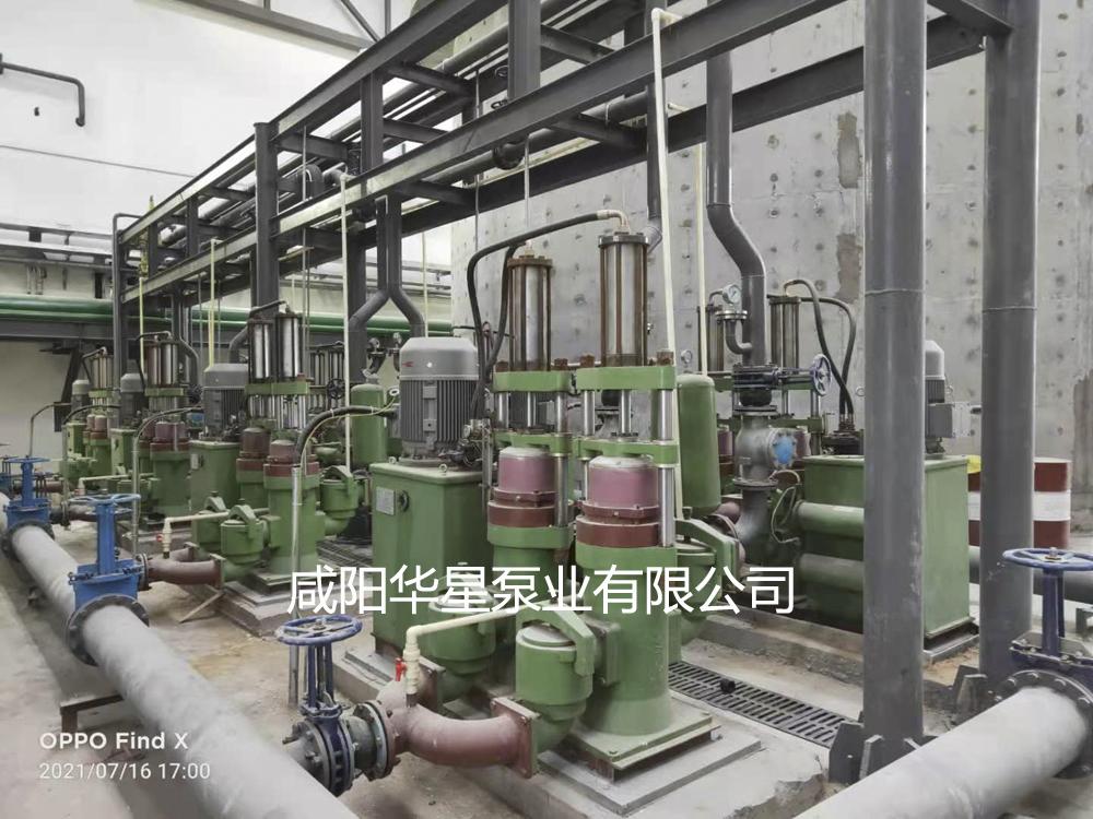 节能型陶瓷柱塞泵在洗煤厂使用现场